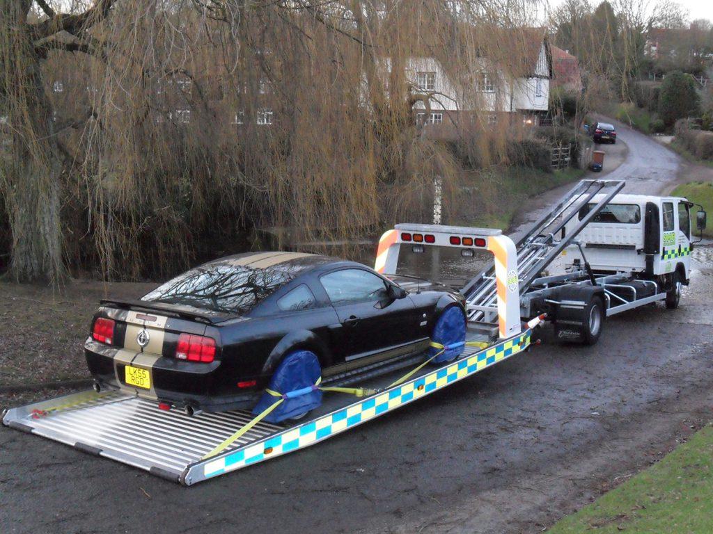 Test used heavy vehicle